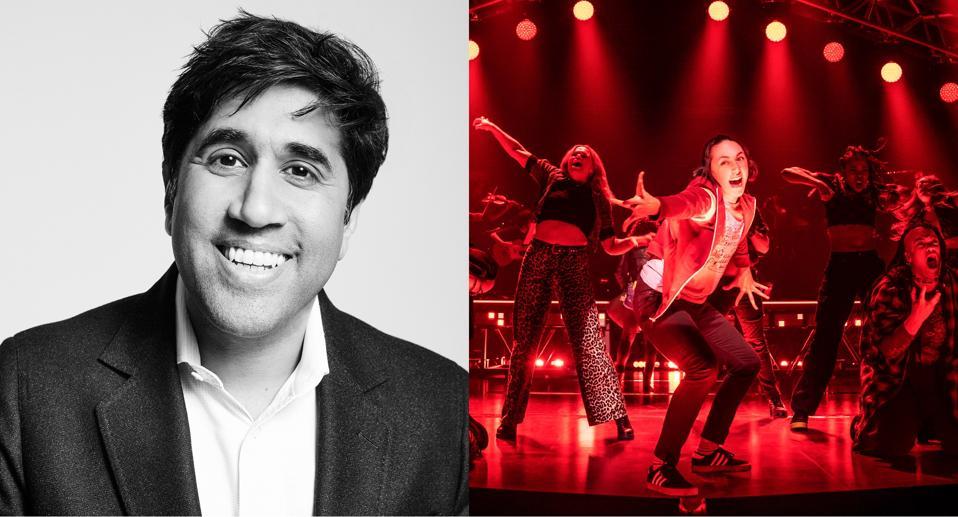 Tony nominee Vivek Tiwary, running Alanis Morisette's ″Jagged Little Pill″ on Broadway.