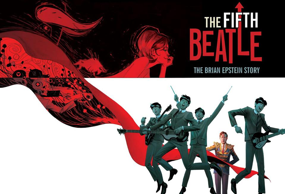 Bestseller graphic novel ″The Fifth Beatle″ about manager Brian Epstein.