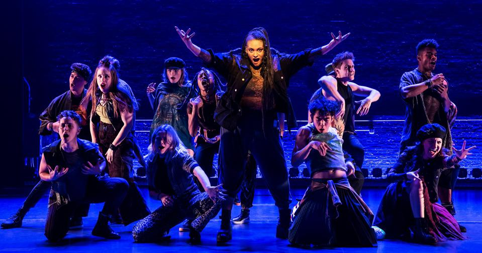 The cast of Jagged Little Pill, a new Broadway musical based on Alanis Morissette's album.