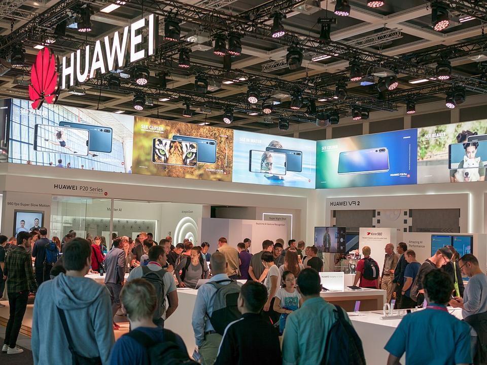 Huawei, Berlin, store