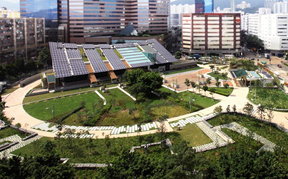 zero carbon building Hong Kong