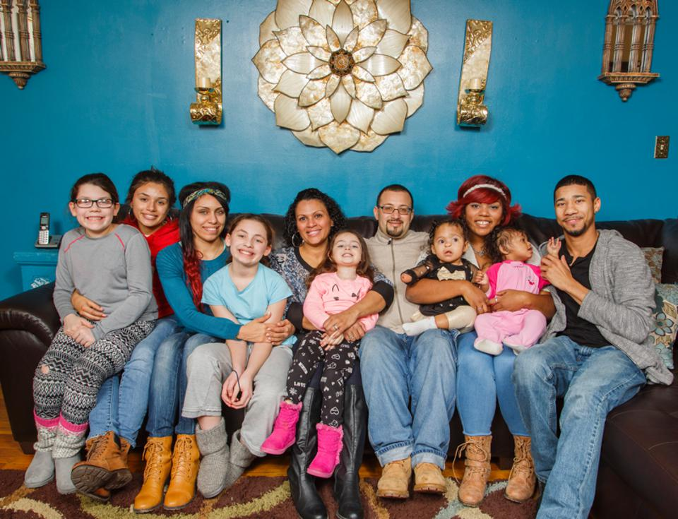 A family that saved their home from foreclosure