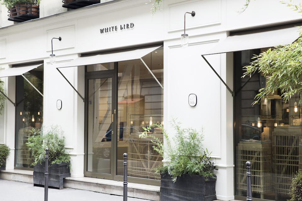 White Bird jewelry concept store, on rue du Mont Thabor, in Paris