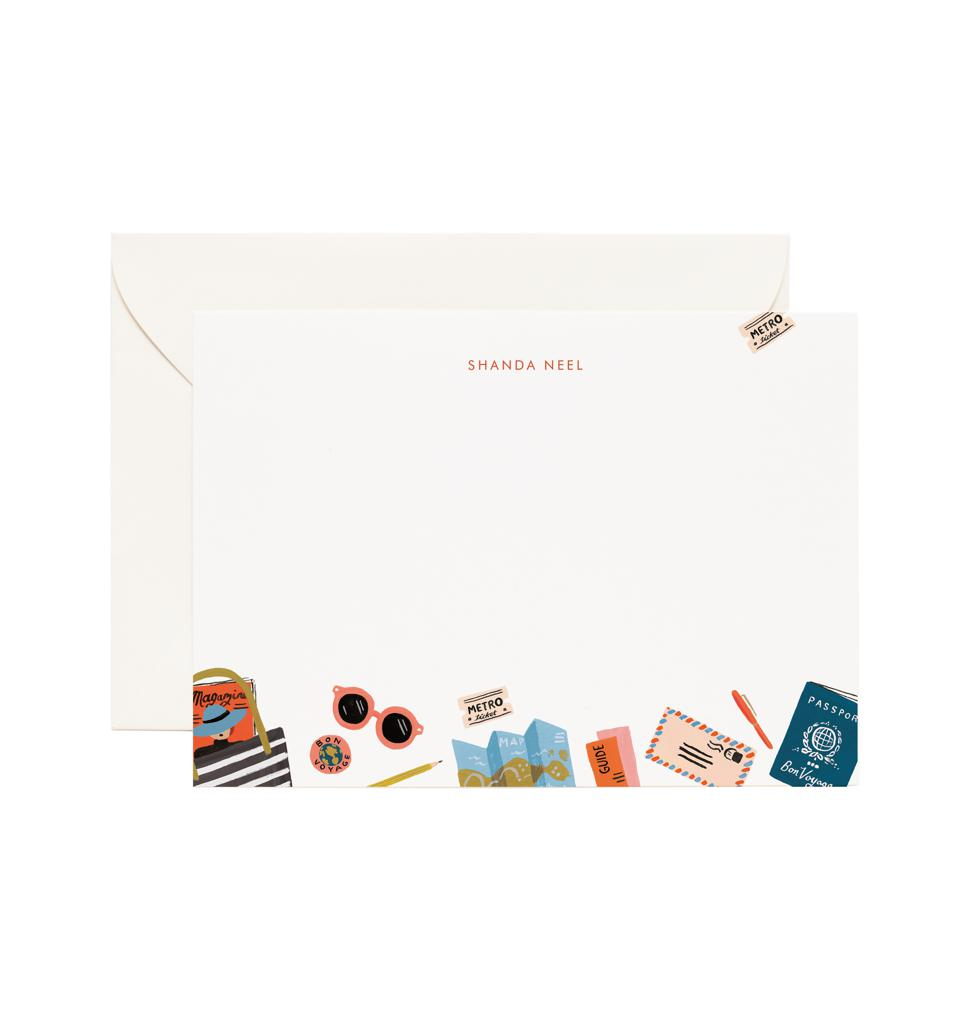 Customized stationery from Rifle Paper Co.