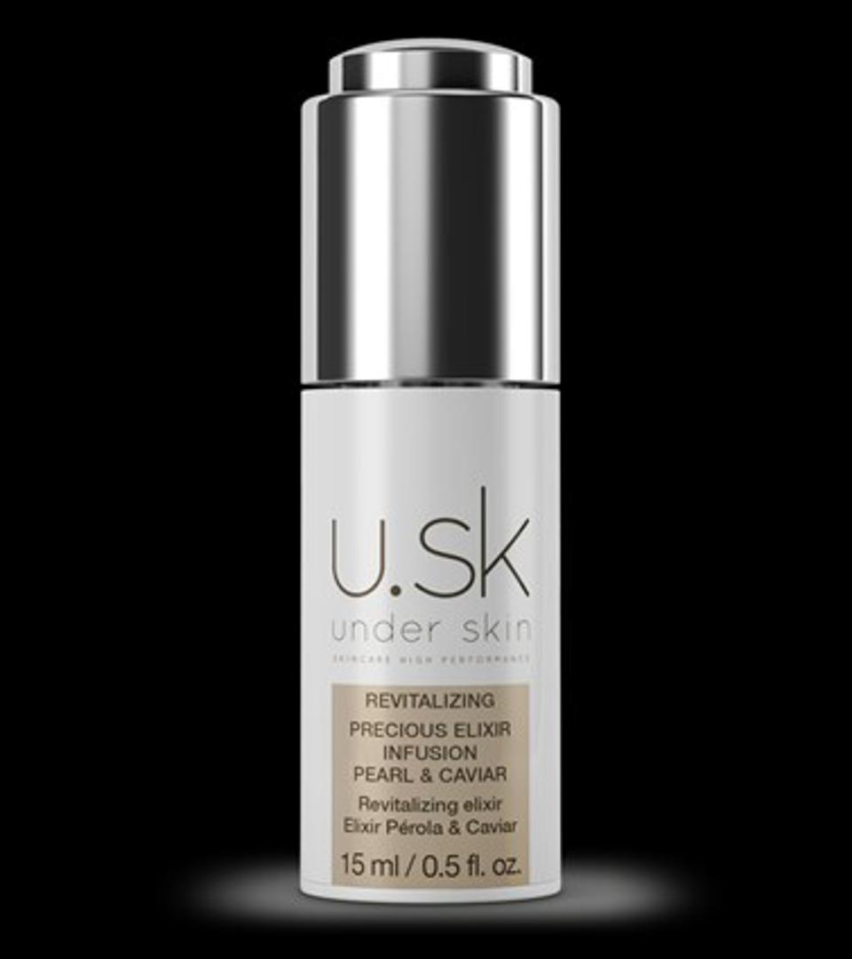 U.SK Under Skin's Precious Pearl & Caviar Elixir