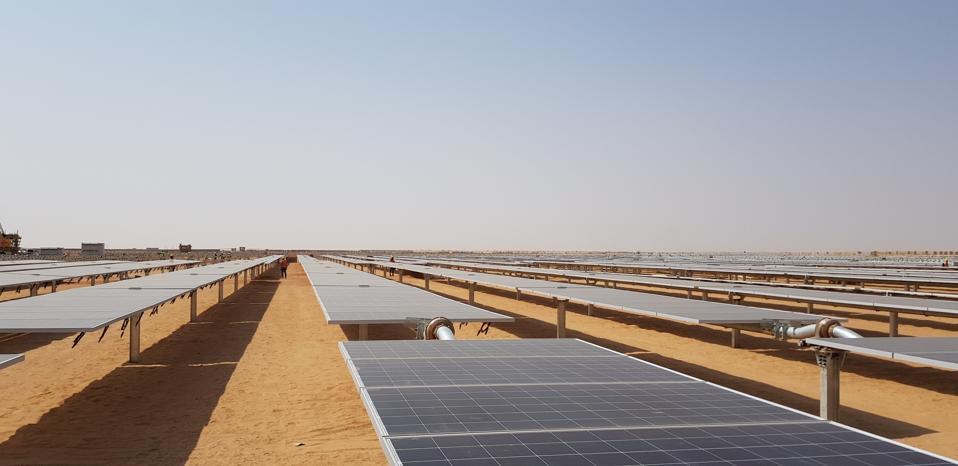 Solar fields in Egypt