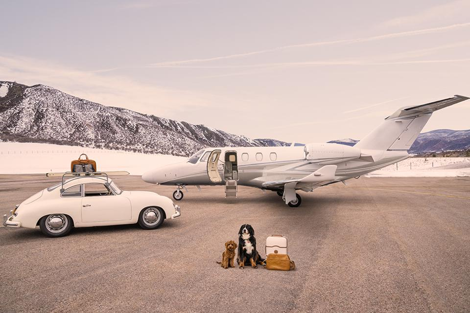 The Arrival, Aspen Private Airport