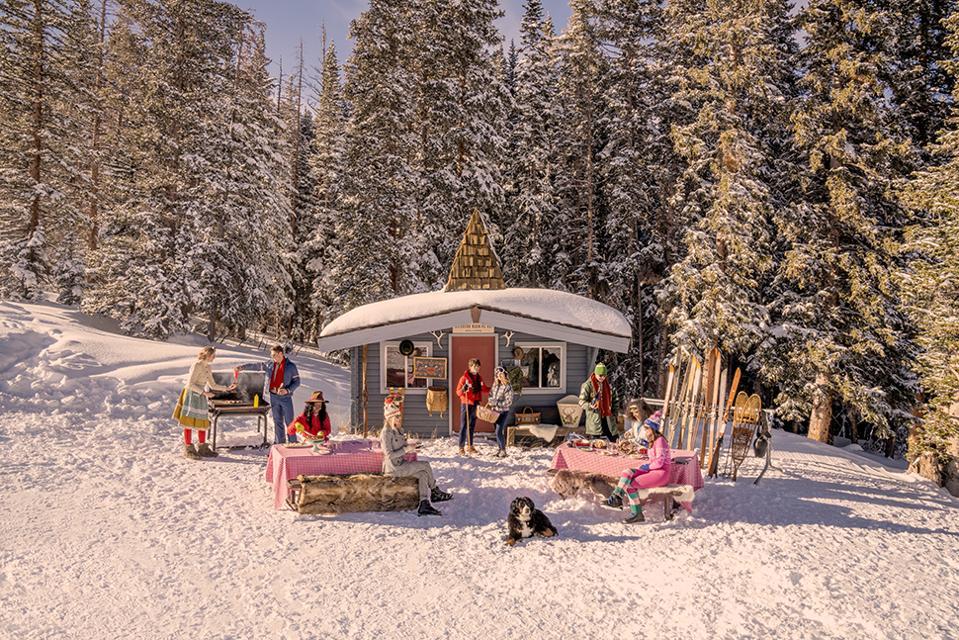 Buckhorn Cabin Picnic, Aspen Mountain