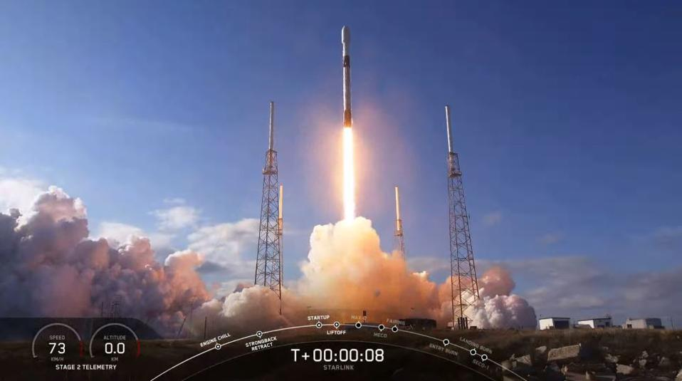 SpaceX Launches Fourth Starlink Mission As Its Mega Constellation ...