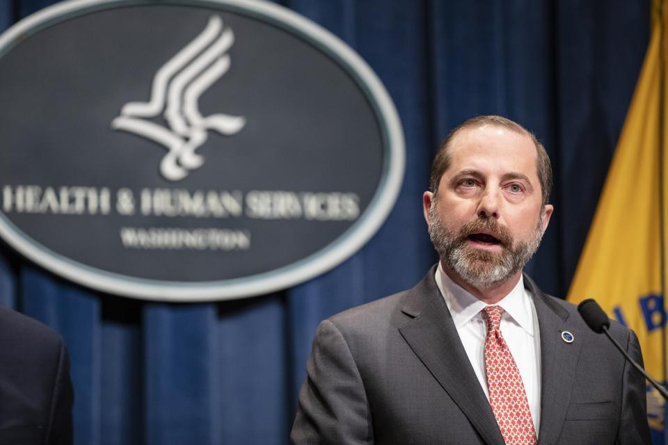 Health And Human Services Briefs The Media On The Department's Response To The Coronavirus