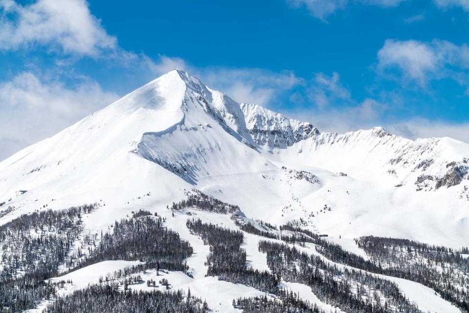 Lone Peak at Big Sky