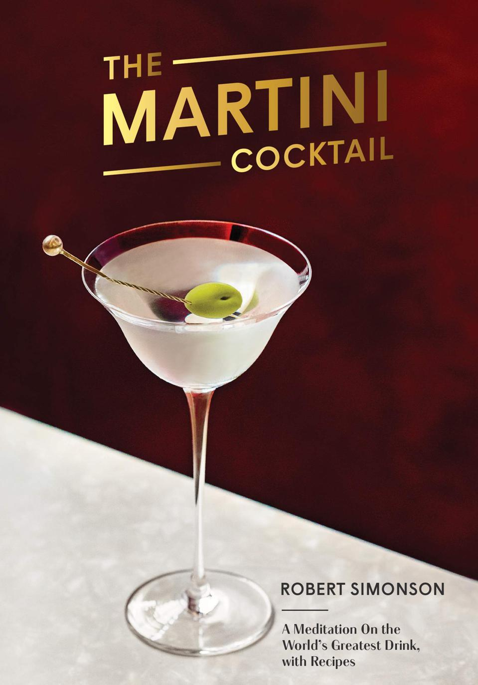 Best Cocktails Books_Martini Cocktail by Robert Simonson