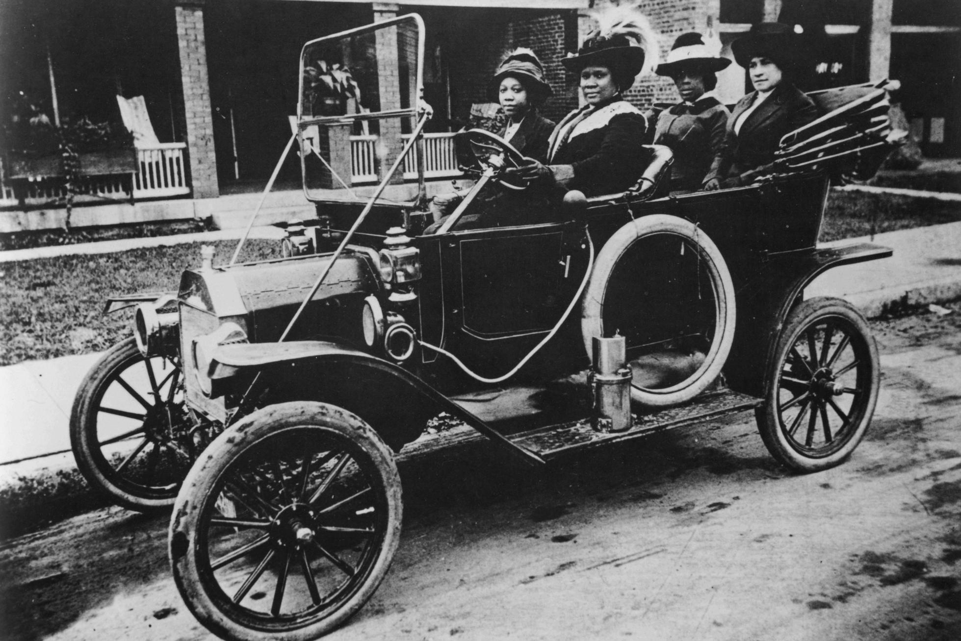 Madam C.J. Walker Driving