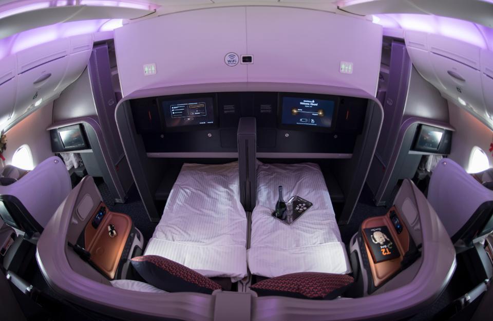 Singapore Airlines nouvelle classe affaires