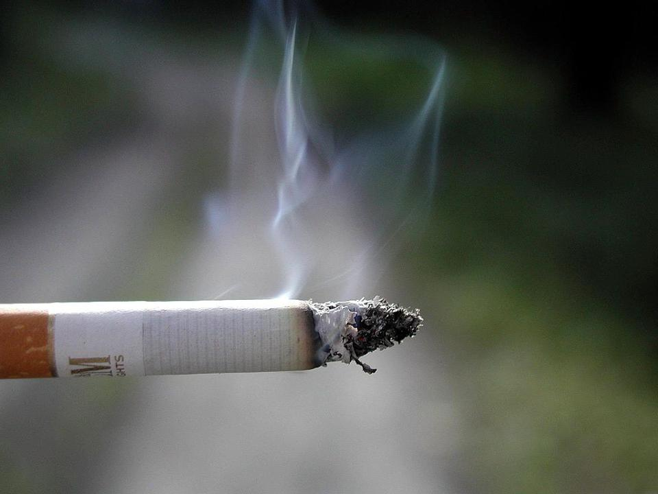 Cigarette smoking.
