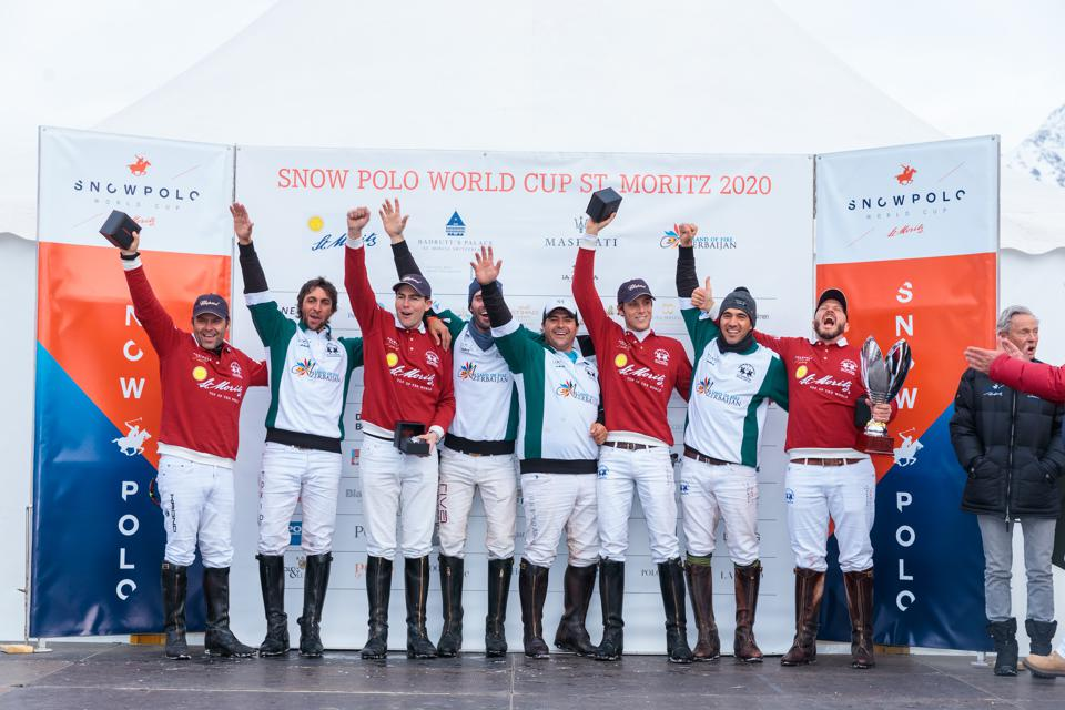 The finals pitted the St. Moritz team against the Azerbaijan-Land of Fire team.