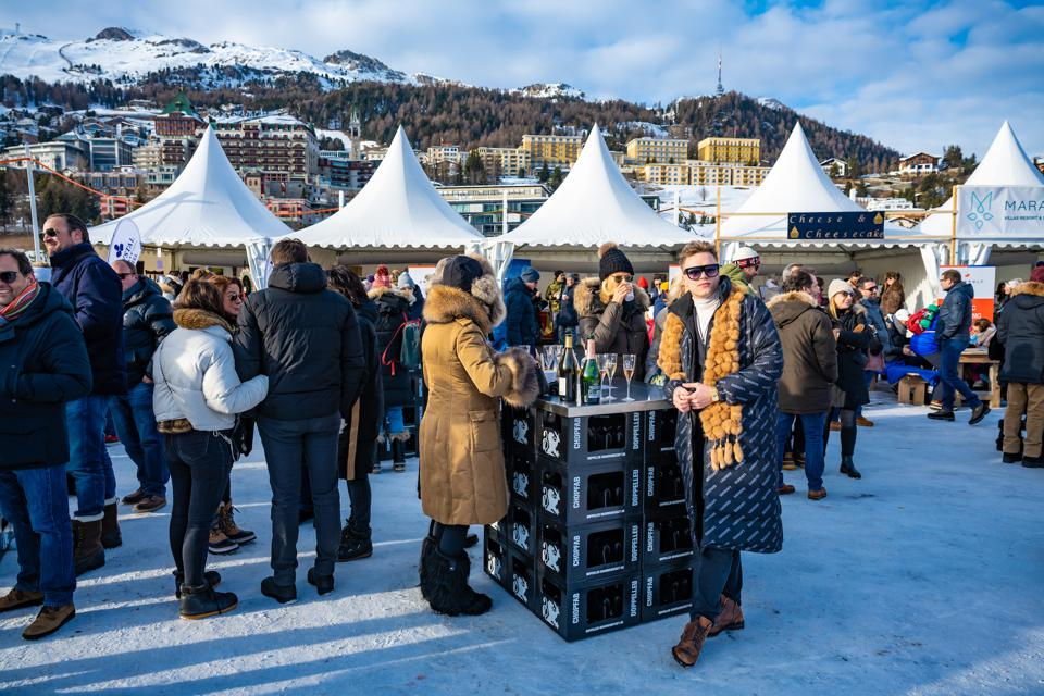 The Snow Polo World Cup has taken place over the last weekend in January in this mountain town since it started in 1985. It is one of the top social events of the winter in Europe.