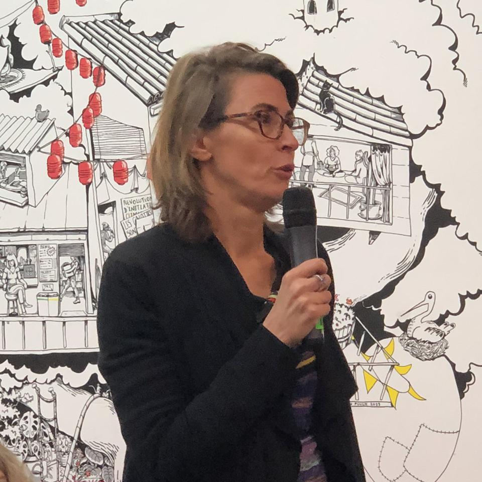 Sherpa Director Sandra Cossart.
