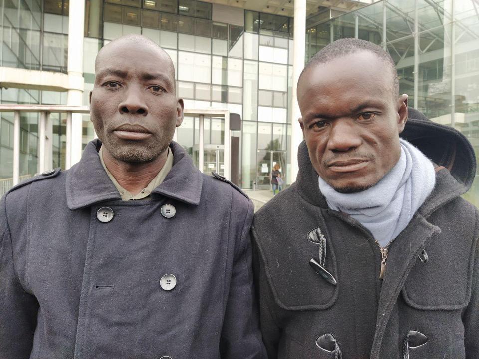Jelousy Mugisha and Fred Mwesigwa.