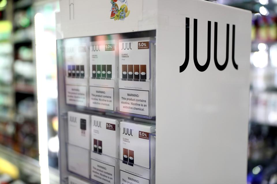 Juul Suspends Sales Of All Flavored E-Cigarettes Ahead Of Impending Ban