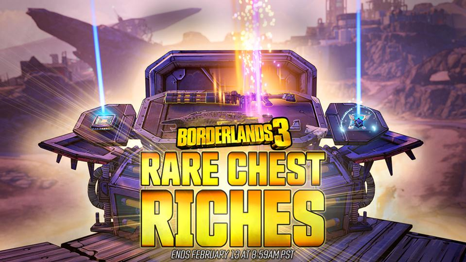 'Borderlands 3' Begins Rare Chest Event, Permanently Buffs Drop Rates After Farming Frenzy