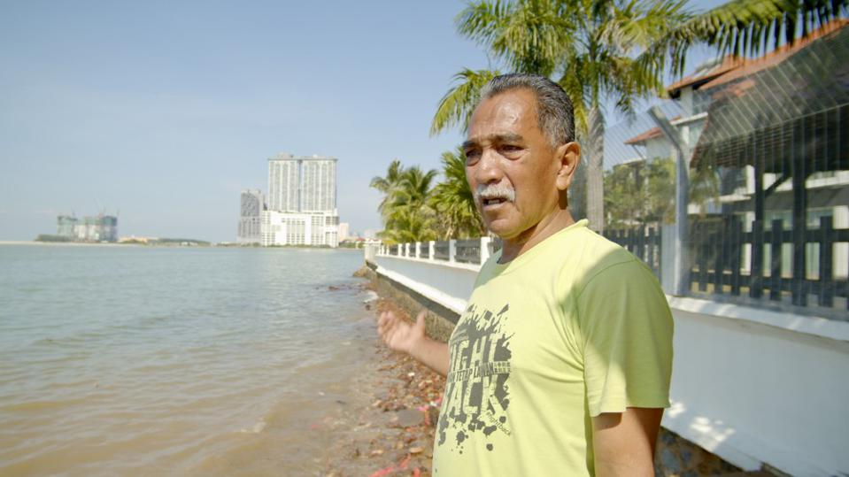 Martin Thesaria, a community leader in Portuguese Settlement who opposes the Melaka Gateway project.