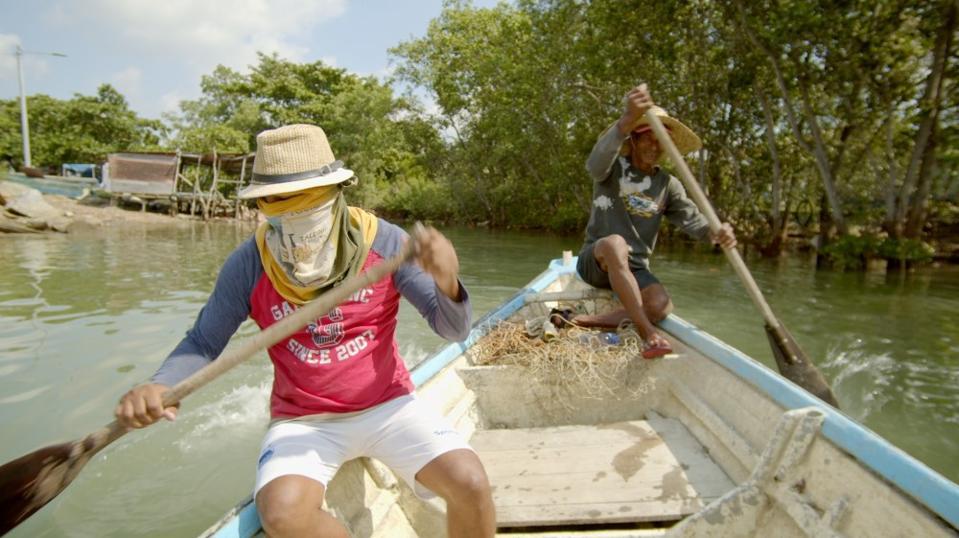 Fishermen in Portuguese Settlement.
