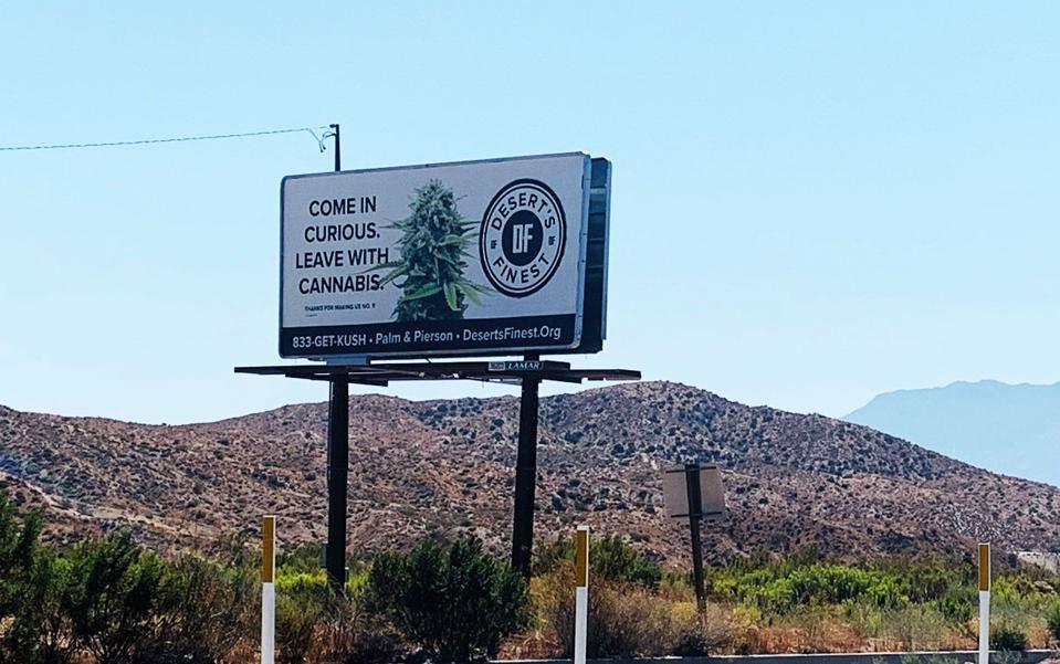 California Cannabis Ad