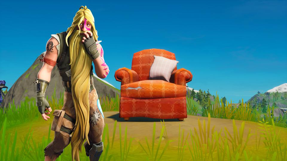 Fortnite Lonely Recliner Challenge