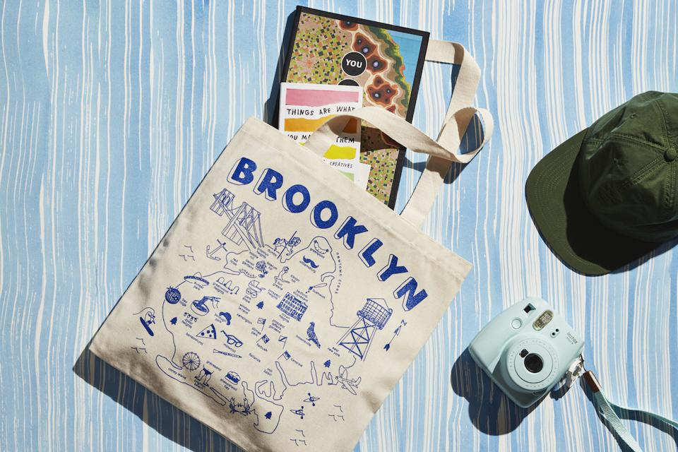 Brooklyn is home to Maptote.