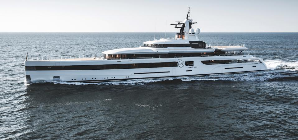 Daniel Snyder's 305-foot-long superyacht is one of several owned by NFL Team Owners in Miami for the Super Bowl.