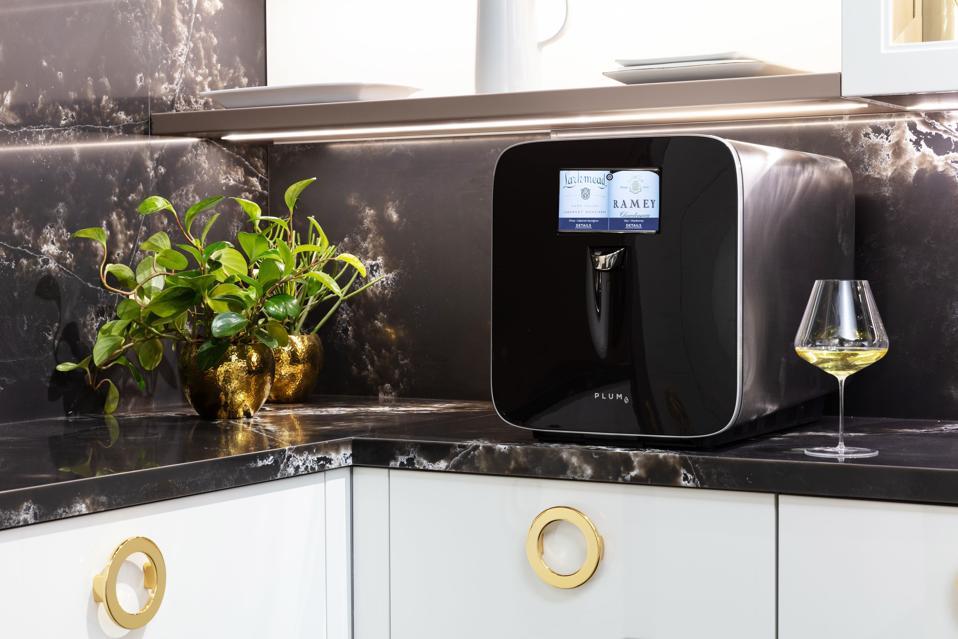 smart home wine appliance