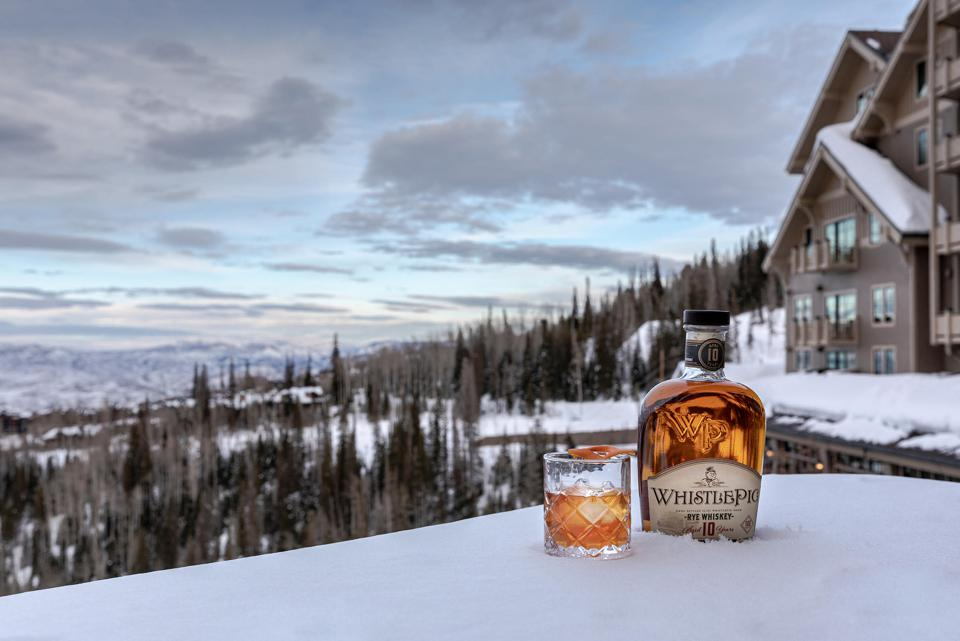 A Whistlepig Cocktail at the Montage Deer Valley