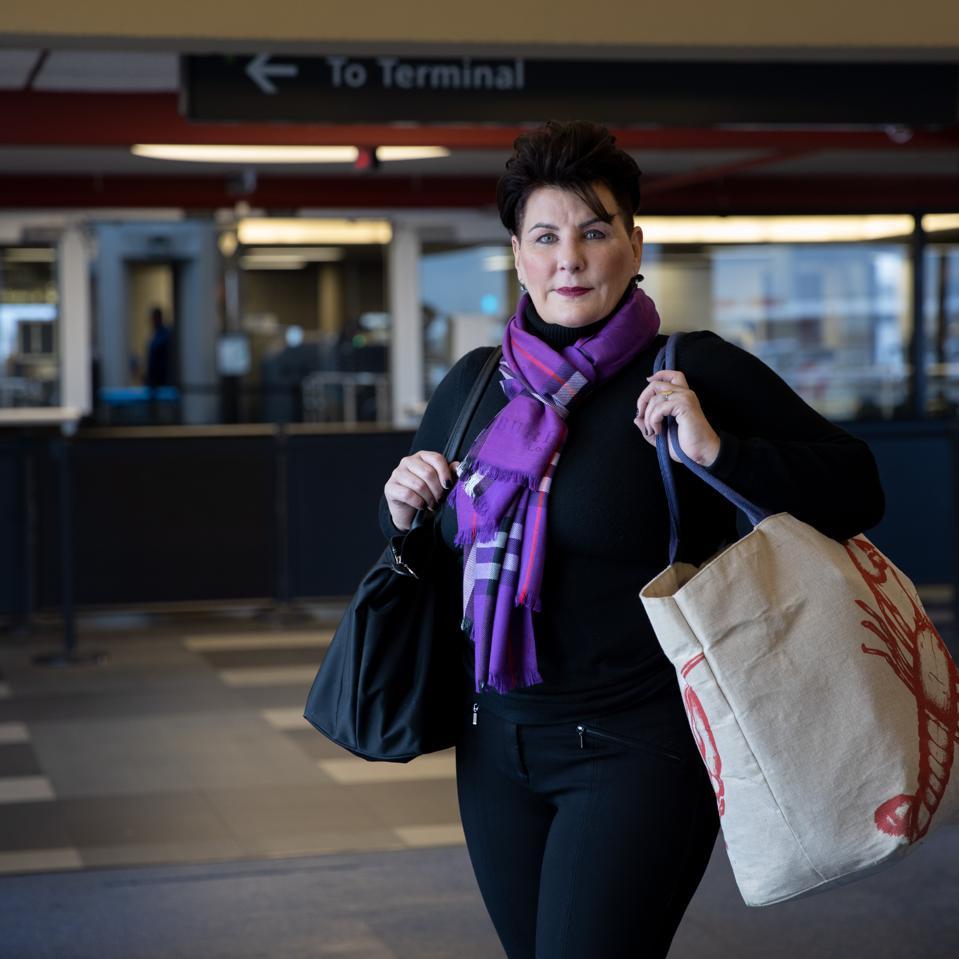 Rebecca Brown airport seized cash TSA DEA lawsuit