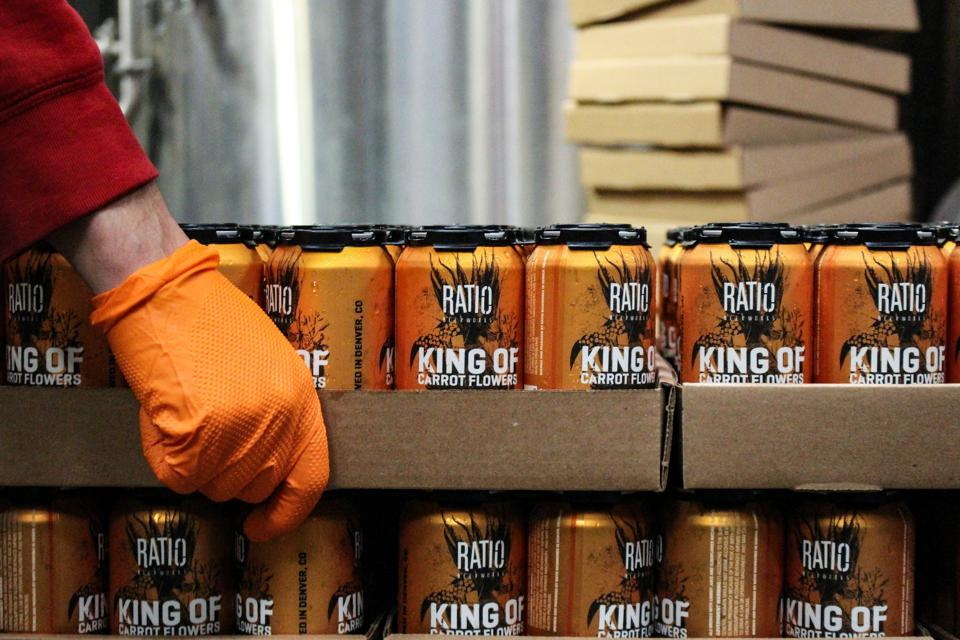 Denver-based Ratio Beerworks celebrated its fifth anniversary Feb. 13 by releasing special beers, including King of Carrot Flowers.