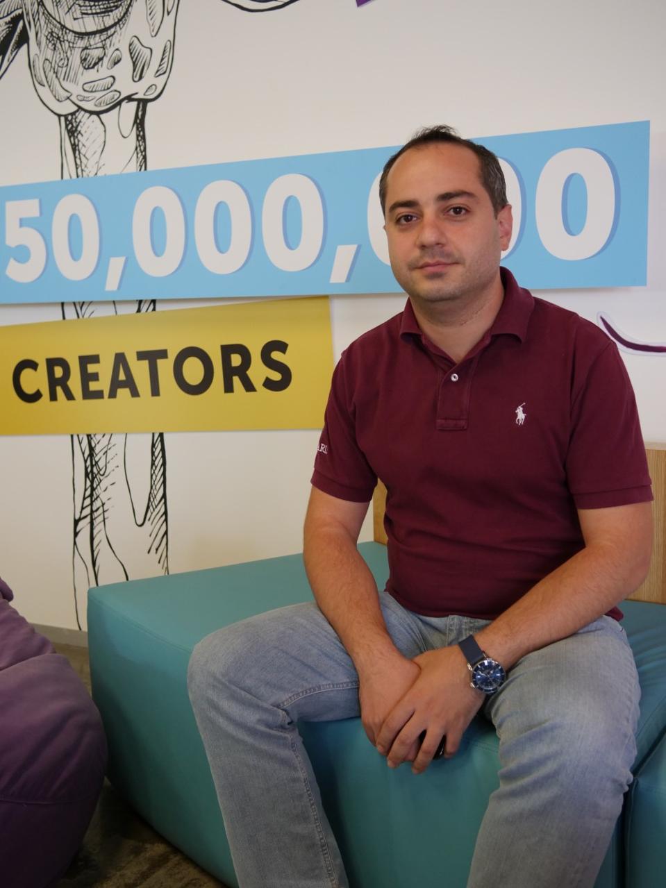 Mikayel Vardanyan, cofounder of PicsArt