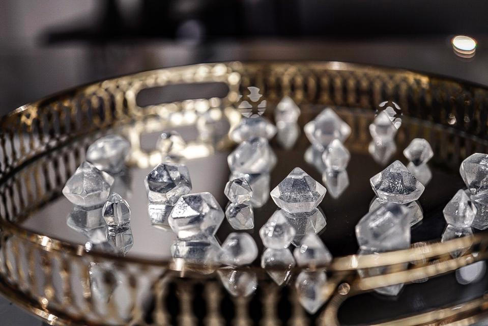 piña colada-flavored diamonds vogue mike bagale