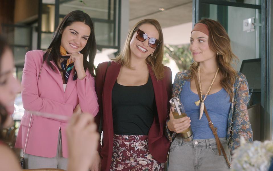 Maité Perroni, Fabiola Campomanes and Marimar Vega