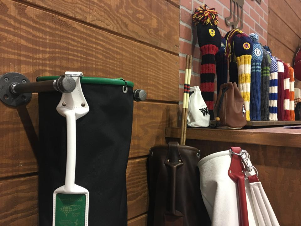 MacKenzie golf bags and headcovers