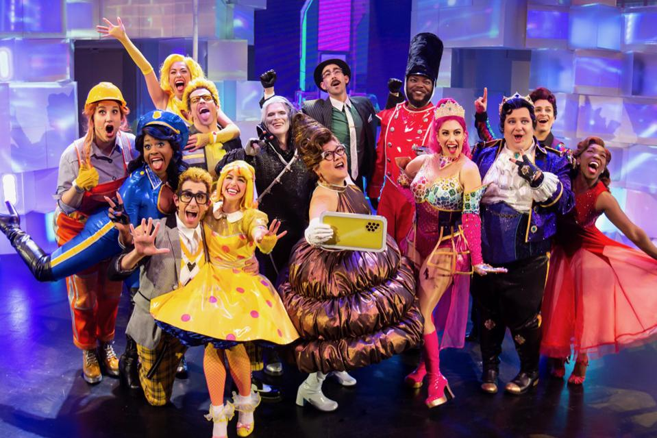 The cast of Emojiland, The Musical. Photo by Jeremy Daniel