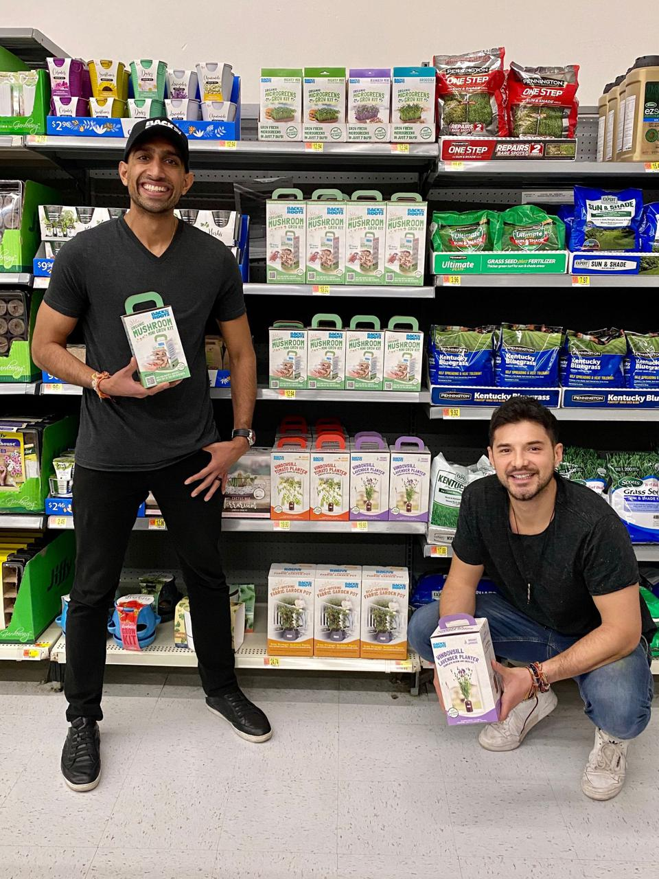 Back to the Roots launches in Walmart stores across America.