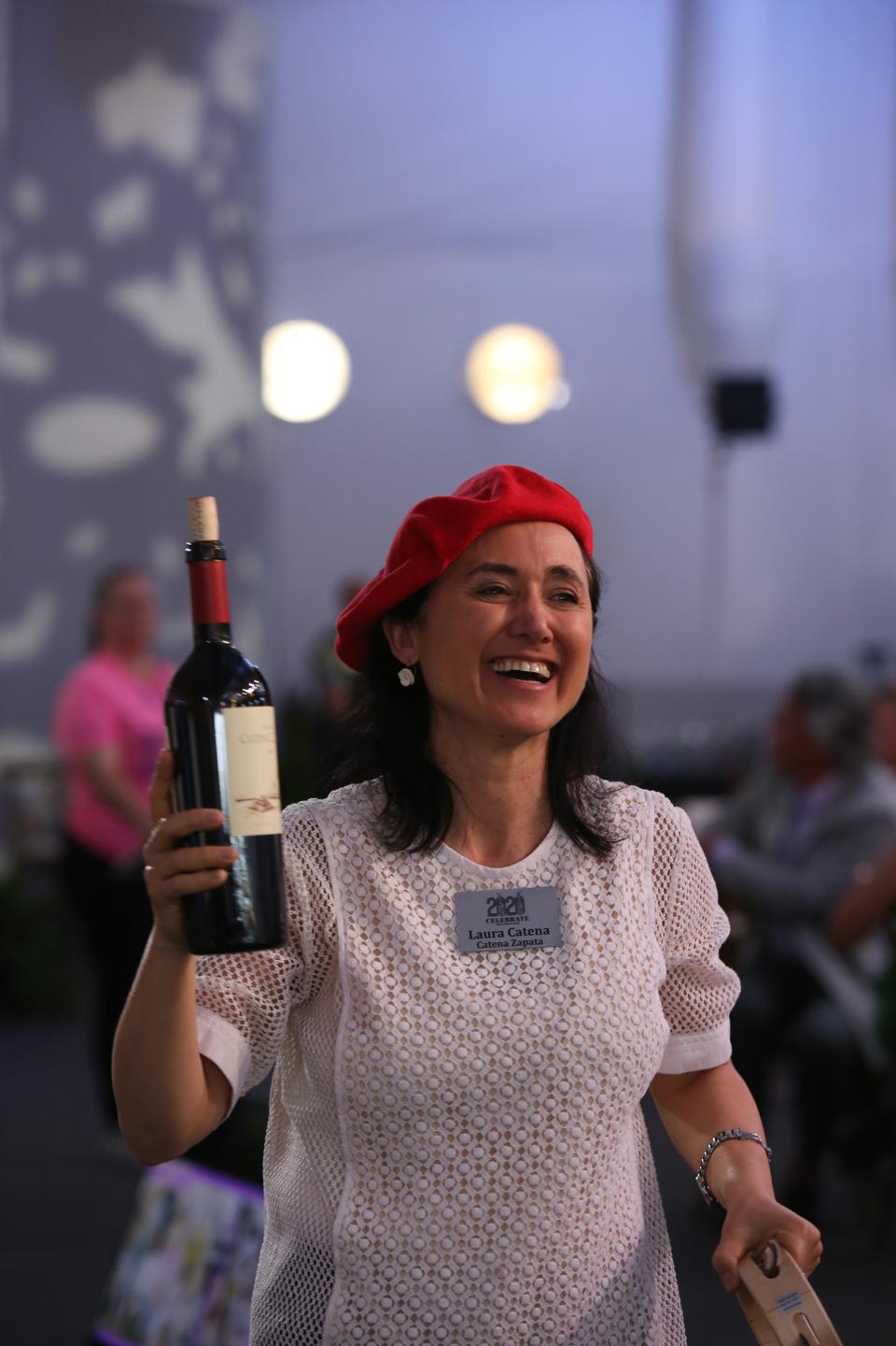 Argentinian winemaker Laura Catena