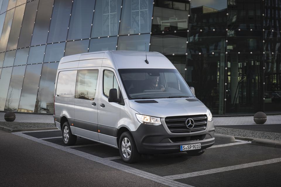 2020 Mercedes-Benz Sprinter Crew Van
