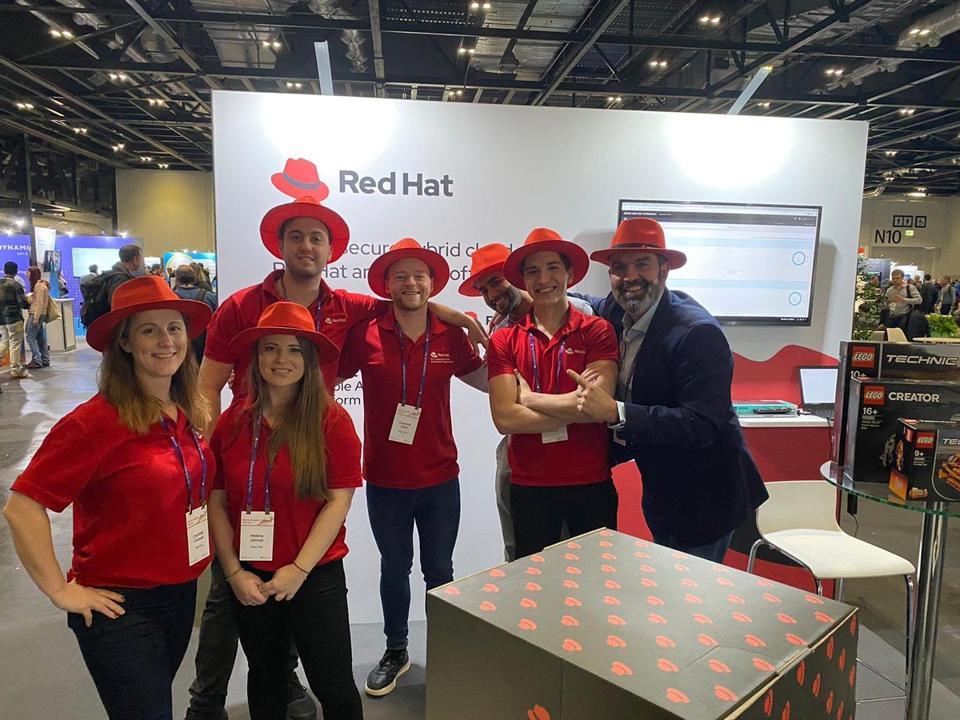 Red Hat team members.