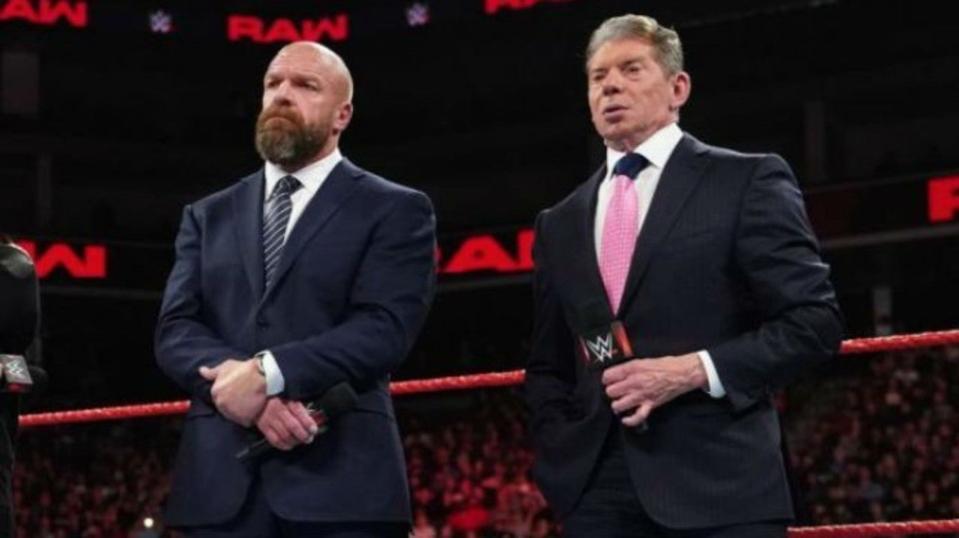 Triple H WWE Raw VInce McMahon George Barrios Michelle Wilson 2020 Wrestlenomics
