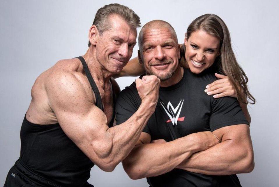 WWE Vince McMahon Stephanie McMahon Triple H 2020