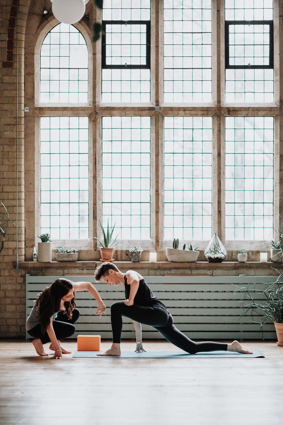 Yogi2me, an at-home yoga app