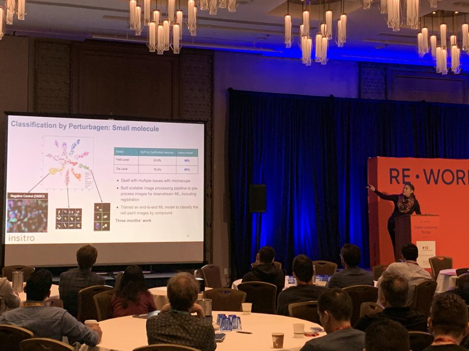 Daphe Koller of Insitro presents on Machine Learning and Drug Discovery at Re:Work Deep Learning and AI Summit