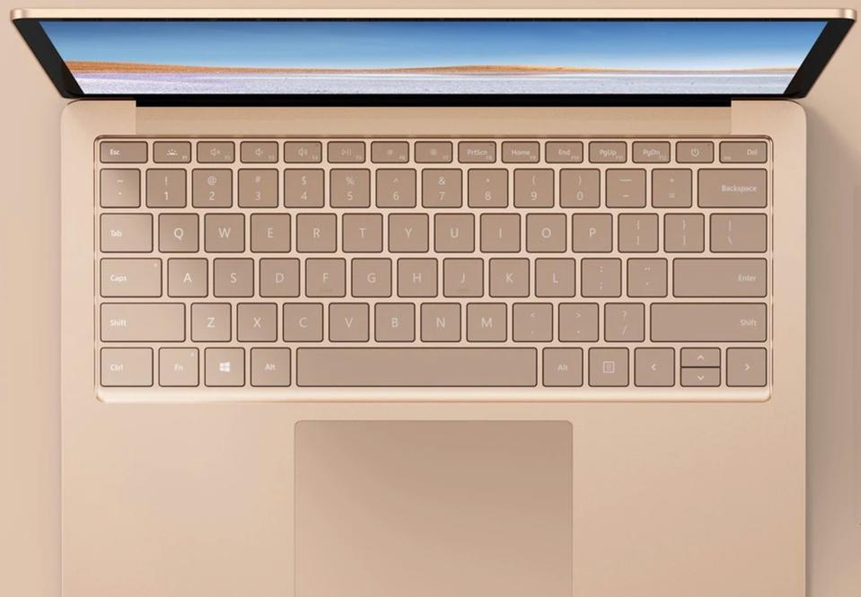 Microsoft Surface Laptop 3 boasts a 13.5-inch display.