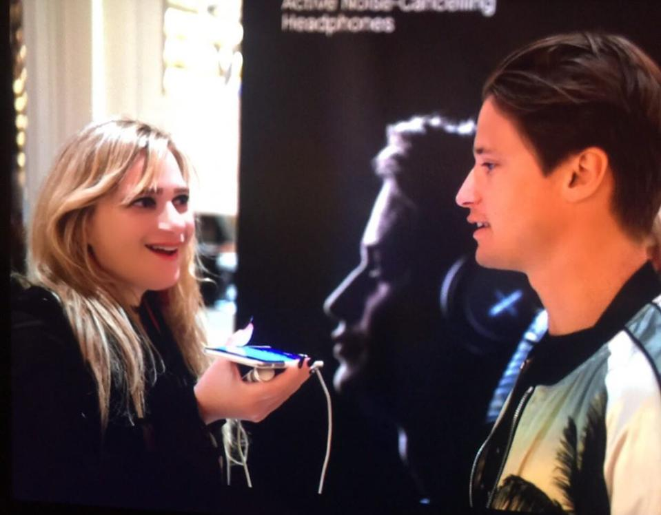 Interviewing Kygo at CES 2020